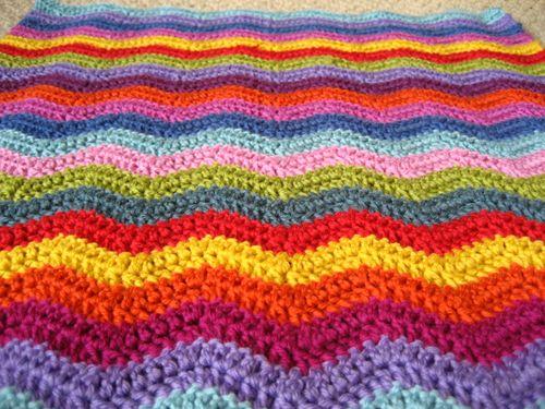crochet ripples
